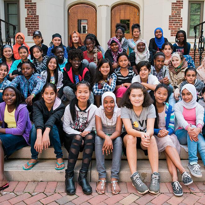 Education For Refugee Girls & Women | Our Challenge | GVP
